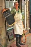 Slager, sledenpop Stock Afbeeldingen