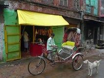 Slagerij - Kolkata (Calcutta, India, Azië) Stock Fotografie