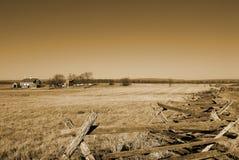 slagfält gettysburg Fotografering för Bildbyråer
