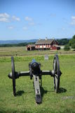 slagfält gettysburg pennsylvania royaltyfri foto