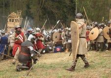 Slaggebied stock afbeeldingen