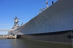 Slagschip stock afbeelding