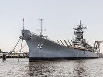 Slagschip New Jersey stock afbeelding