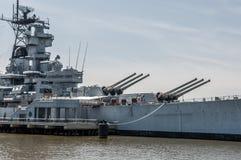 Slagschip New Jersey royalty-vrije stock foto