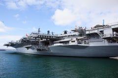 Slagschip in San Diego royalty-vrije stock foto's
