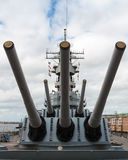Slagschip Wisconsin Royalty-vrije Stock Afbeelding