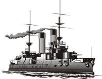slagskepp royaltyfri illustrationer