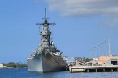 slagskepp missouri Arkivfoton