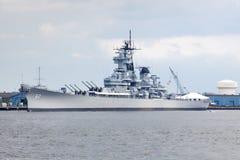 slagskepp nya jersey Royaltyfri Bild