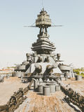 Slagskepp Texas USS Texas & x28; BB-35& x29; Arkivbild