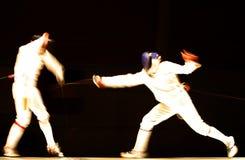 slagsmål Arkivfoto