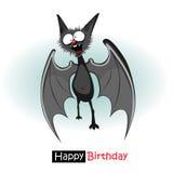 Slagträleende för lycklig födelsedag stock illustrationer