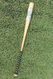 Slagträträ för softball Arkivfoton