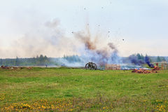 slagveld Royalty-vrije Stock Afbeeldingen