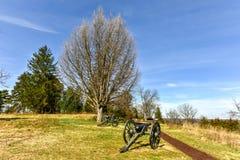Slagveld - Fredericksburg, Virginia stock foto