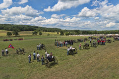 Slagveld in Gettysburg Stock Foto