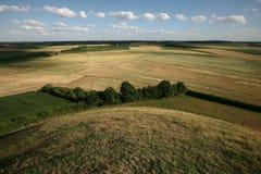 Slagveld van de Slag van Waterloo (1815) dichtbij Brussel, Belg Royalty-vrije Stock Afbeelding