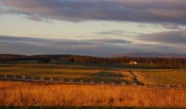 Slagveld van Gettysburg stock afbeeldingen