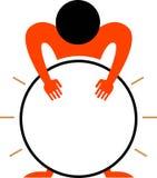 Slagwerker vector illustratie