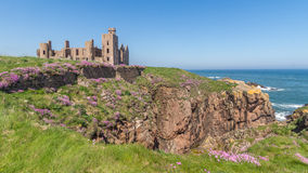 Slains Castle UK Scotland Royalty Free Stock Photos