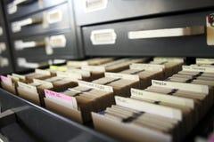slajd gromadzenia danych Zdjęcie Stock