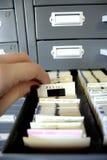 slajd gromadzenia danych Obraz Stock