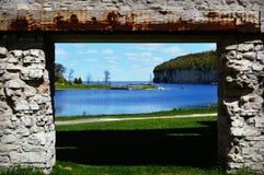 Slak Shell Harbor Royalty-vrije Stock Afbeeldingen