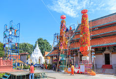 Slak-Yom. Is tradition in Thailand and one tradition in the world Royalty Free Stock Photos