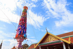 Slak-Yom. Is tradition in Thailand and one tradition in the world royalty free stock photography