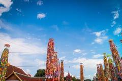Slakpat. LAMPHUN THAILAND- SEPTEMBER 26 : Slakpat Lanna tradition at Wat Phra That Hariphunchai on September 26, 2015 in Lamphun, Thailand Royalty Free Stock Image