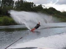 slalom Royaltyfria Foton