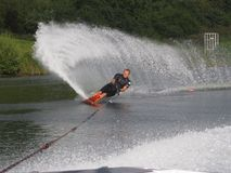 slalom Royaltyfria Bilder