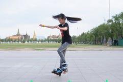 Slalom di stile libero Fotografie Stock Libere da Diritti