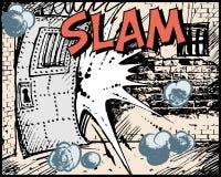 slam книги шуточный Стоковые Изображения RF