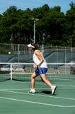 Slam da raquete Foto de Stock