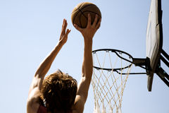 Slam-dunk Fotografia Stock