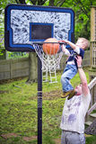 Slam dunk Royalty Free Stock Photo
