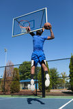 Slam Dunk-Basketball Lizenzfreies Stockbild