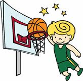 Slam Dunk Royalty Free Stock Images