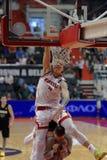Slam Dunk-Wettbewerb während Kondrashin-Belovschale Lizenzfreies Stockfoto
