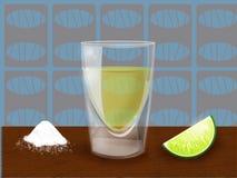 slammer tequila Στοκ εικόνες με δικαίωμα ελεύθερης χρήσης