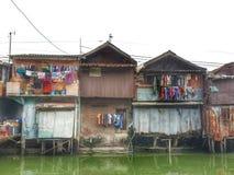 Slamsy w Dżakarta -2 Zdjęcie Stock