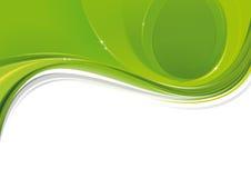 Slancio verde morbido Fotografia Stock Libera da Diritti
