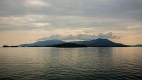 Sland di Shodoshima nel mare Fotografia Stock Libera da Diritti