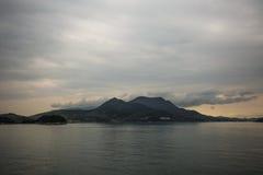 Sland di Shodoshima nel mare Immagine Stock Libera da Diritti
