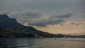 Sland di Shodoshima nel mare Fotografia Stock