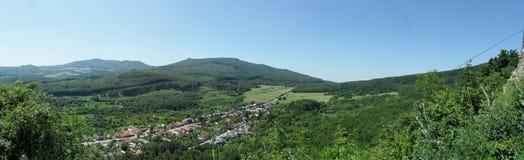 Slanec,斯洛伐克看法  图库摄影