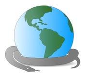 Slang en Aarde 2013 Royalty-vrije Stock Foto