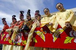 Slang van het Nieuwjaar van Wellington de Chinese Stock Foto