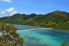 Slangeiland op de Filippijnen Royalty-vrije Stock Foto